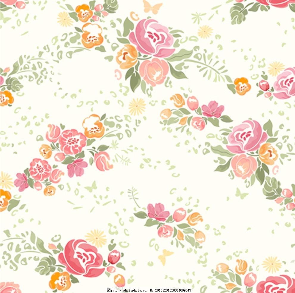 水彩玫瑰花 玫瑰花 花卉花朵 小清新 水粉花 设计 底纹边框 花边花纹